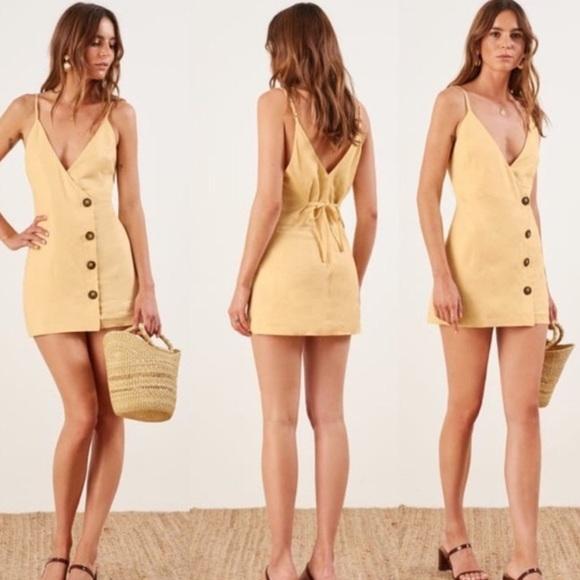Reformation Cayman Mini Dress